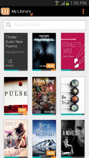 La biblioteca de Wattpad es aportada por la propia comunidad de manera totalmente gratuita, superando los 10 millones de títulos.