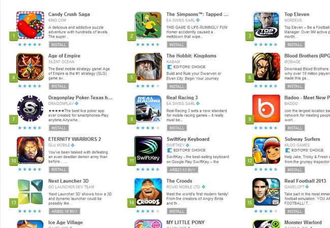 Una gran cantidad de juegos son de acceso gratuito, algunos de ellos ofrecen adicionales a costo razonable. Lamentablemente también hay otros que para poder disfrutarse exigen compras internas.
