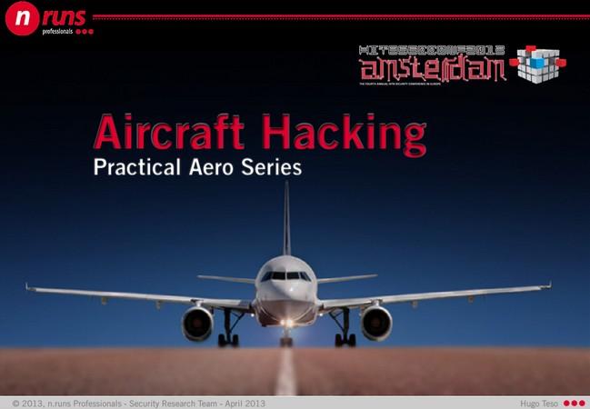 El trabajo de Teso demuestra que el software que maneja los aviones no está encriptado ni requiere autenticación.