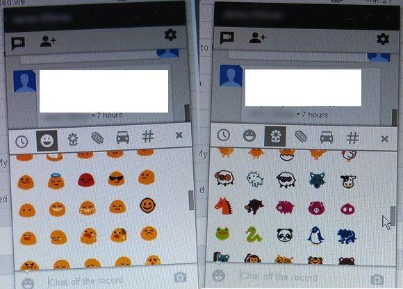 Algunas de las imágenes reveladas de Babel muestran el diseño de las ventanas de chat.