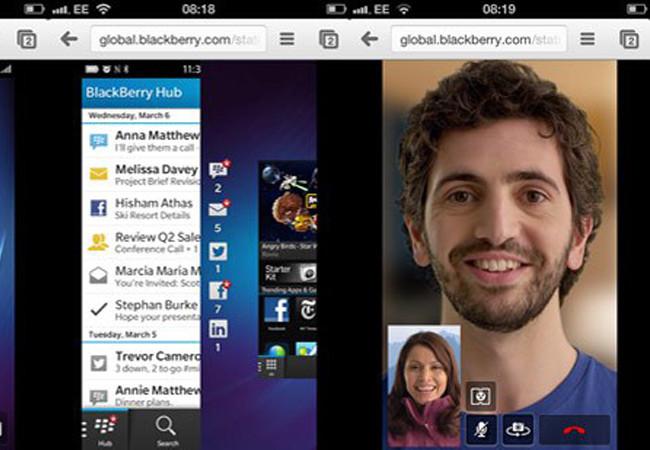 Algunas de las nuevas características del sistema operativo de Blackberry, como Time Shift y Screen Share, resultan realmente interesantes.