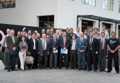 Autoridades del Ministerio de Ciencia y Tecnología junto a integrantes de las empresas y organismos del Clúster de Software Libre.