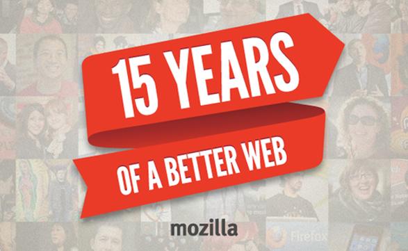 La Fundación Mozilla festejó sus 15 años con la presentación de Firefox 20.