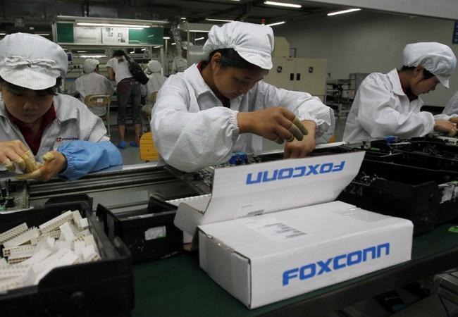 Además de equipos LG, HTC y Samsung, Foxconn también produce toda la línea Apple.