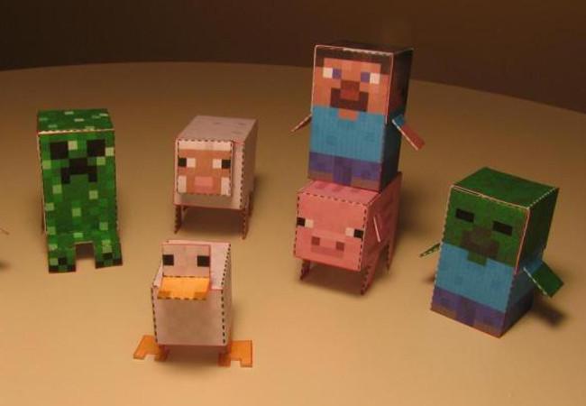 http www minecraft tendr su propia l nea de juguetes. Black Bedroom Furniture Sets. Home Design Ideas