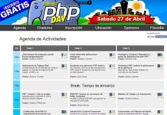 El PHP Day contará con tres salas simultáneas.