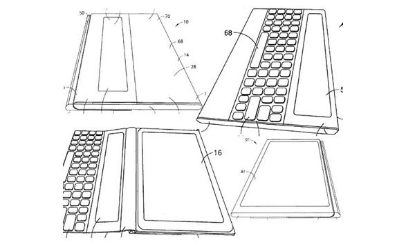 De acuerdo a la patente de octubre de 2011, así se vería la futura tablet de Nokia.