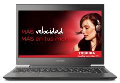 La Toshiba Portégé no es simplemente una cara bonita, en su interior encontramos un Core i5, 6GB de RAM y un disco SSD de 128GB.