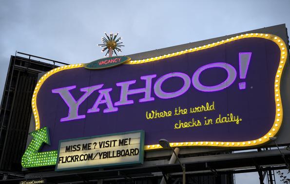 Yahoo! registró ganancias que superaron las expectativas de los analistas.
