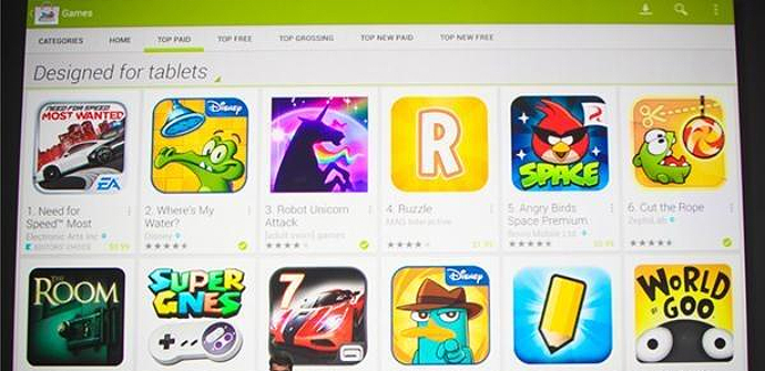 Google Play Apps Tablets Redusers