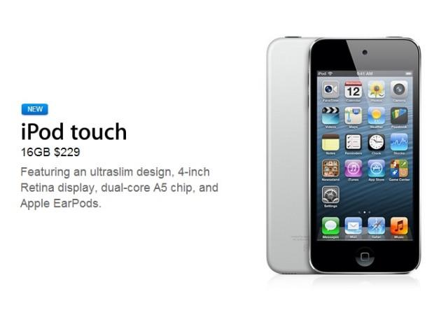 Apple anunció un nuevo iPod Touch de 5ta generación - RedUSERS ...
