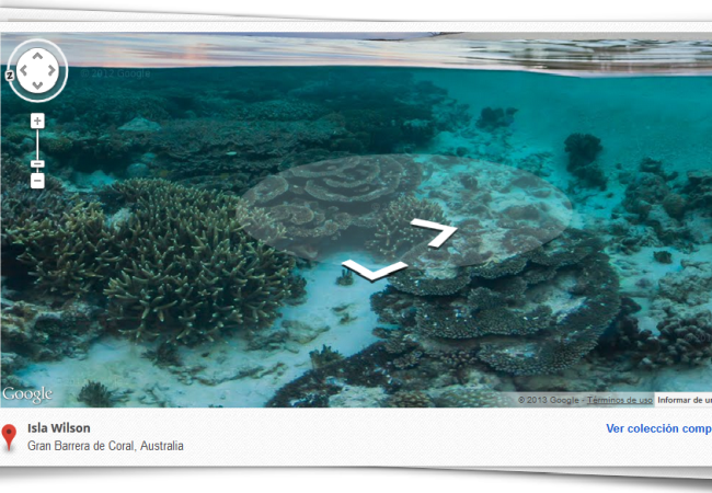 Si el proyecto de Google sigue a buen ritmo, pronto podremos visitar lo mejor de los océanos desde la comodidad del hogar.
