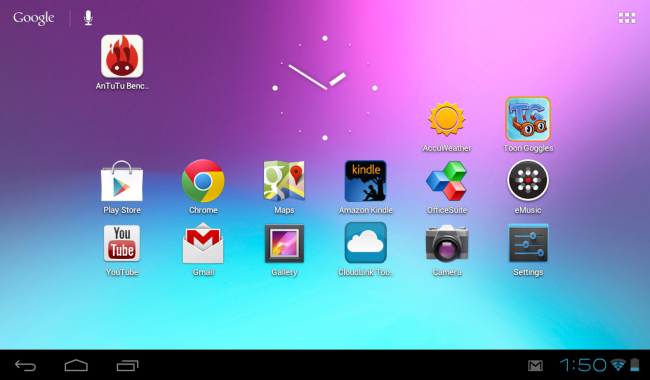 La Kyros MID7065 ofrece toda la funcionalidad de Android 4.0.