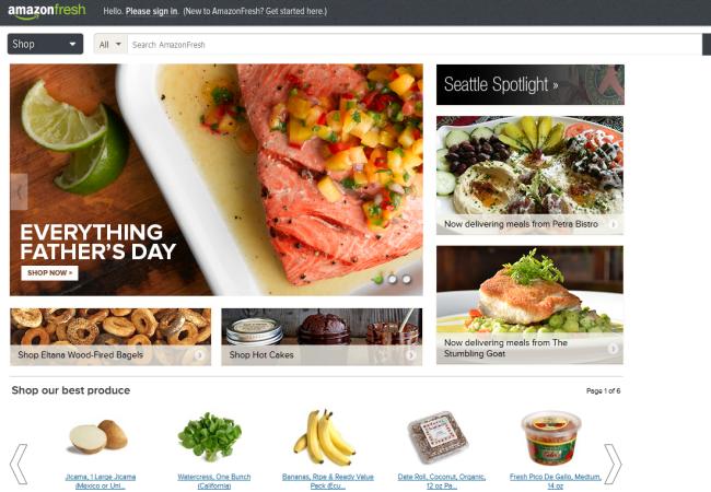 AmazonFresh funciona en Seatle, pero ya hay planes para su expansión a otras ciudades de los Estados Unidos.