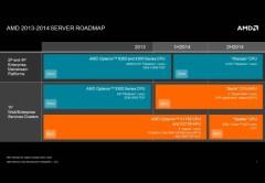 Según el cronograma de AMD, el primer chip ARM vendrá para la segunda mitad de 2014.