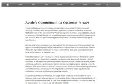 Captura del post de Apple donde se defiende de las acusaciones.