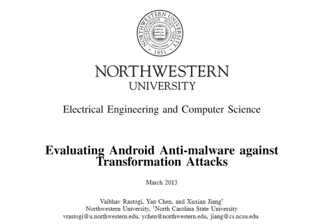 Según el estudio realizado el sistema de firmas puede ser burlado con pequeños cambios en el malware.