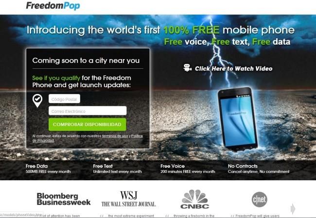 Aunque el servicio de FreedomPop no sea completamente gratuito, podría impulsar una reducción en los precios de las otras compañías.