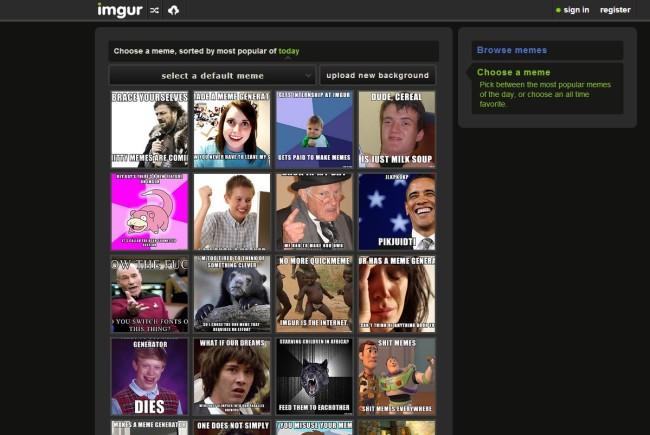 Imgur quiere convertirse en una plataforma de creación de contenidos. Los memes son el primer paso para conseguirlo.