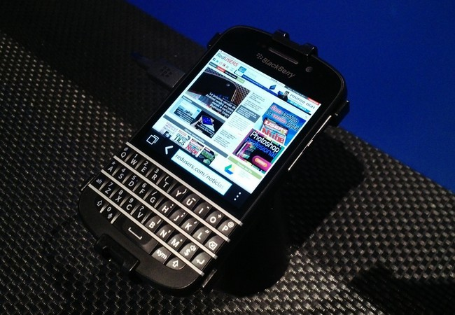 El Q10 es el primer teléfono con BlackBerry 10 que respeta el teclado QWERTY que hizo famosa a la compañía.