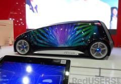 El Fun-Vii permite realizar todo tipo de personalizaciones gracias a su exterior fabricado con displays