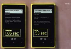 Bing para Windows Phone 8 es ahora un 50% más rápido a la hora de reconocer ordenes por voz