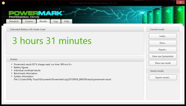 PowerMark Benchmark