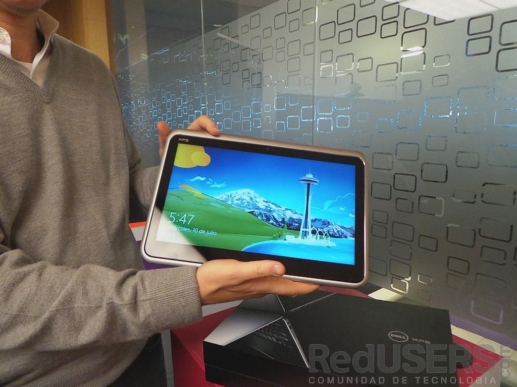 """La XPS Duo 12, convertida en """"tablet"""""""