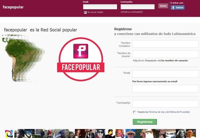 FacePopular utiliza el script PHPFox.