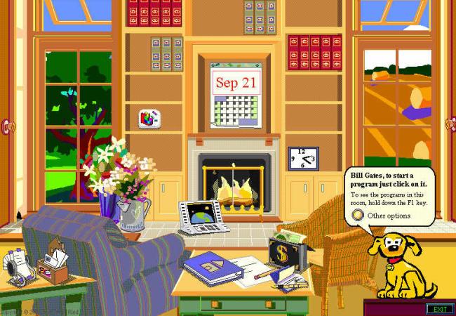 Microsoft Bob o logró causar una impresión fuerte en los usuarios y captar su atención.