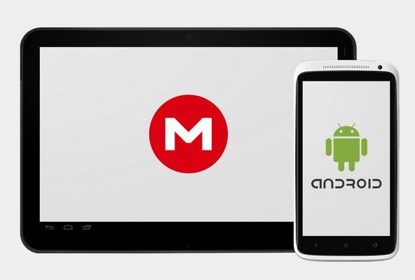 Mega llega, por ahora, únicamente a Android, aunque Dotcom confirmó que habrá versiones para iOS y Windows Phone