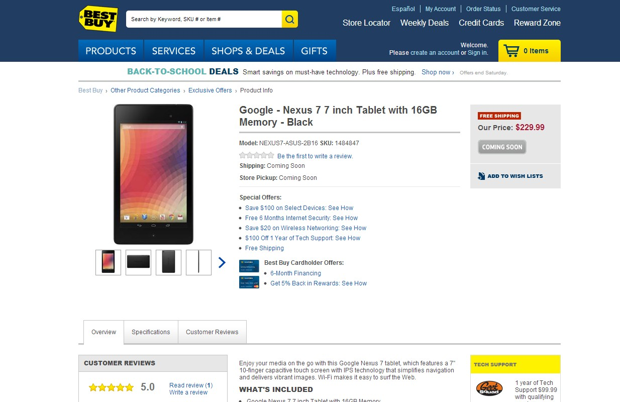 nexus 7 best buy