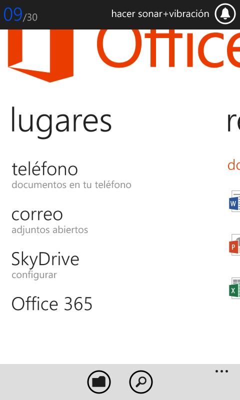 El Hub de Office recién empieza, pero ya nos permite acceder y editar archivos generados con esta suite de oficinas.