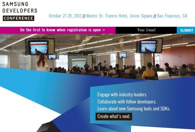 La conferencia de desarrolladores de Samsung se llevará a cabo en la ciudad de San Francisco