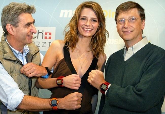 El uso de correas intercambiables parece ser un aspecto clave en la estética del smartwatch de Microsoft.