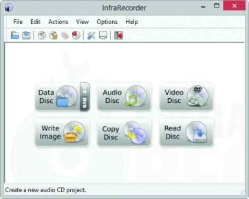 Para traducir InfraRecorder no tendremos más que hacer clic en [Options/Configuration/Languages] y seleccionar [Español].