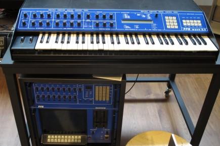 PPG Wave 2.3. Sintetizador y secuenciador con 16 osciladores y resolución de 12 bits, usados por artistas como A-HA, Alphaville, David Bowie, Depeche Mode, Tears for Fears, Stevie Wonder, Marillion y otros tantos.