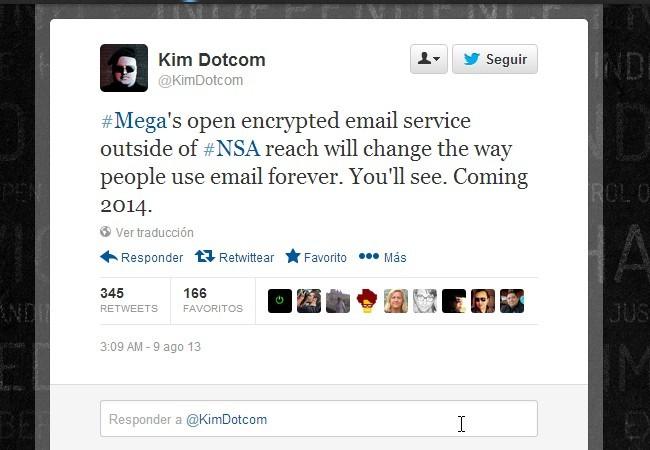 """Según DotCom, el servicio estará """"fuera del alcance de la NSA""""."""