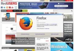 El logo de Firefox se ha renovado para darle un aire más moderno.