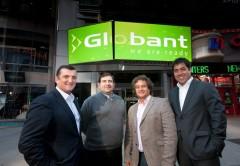 Fundadores de Globant: Martín Migoya, Néstor Nocetti, Guibert Englebienne y Martín Umarán.