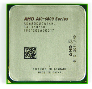 El A10 6800K es el chip más rápido de los nuevos Richland para Socket FM2. Se destaca por ser el único modelo de la nueva serie que soporta memoria DDR3 de 2133 MHZ.