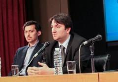 Norberto Berner, secretario de Comunicaciones, durante el lanzamiento del Reglamento de Calidad de Servicio.