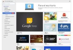 """Las apps se pueden encontrar en la tienda de Google, dentro del apartado """"Para el Escritorio"""""""