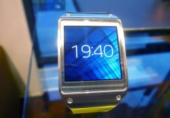 El Samsung Galaxy Gear hizo su aparición oficial en la IFA de Berlín (Foto: TechHive.com)