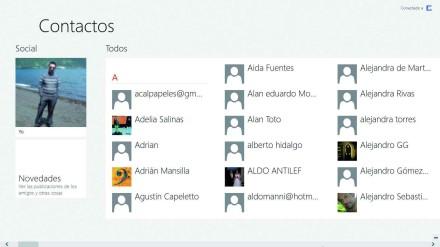 La integración de Skype con Contactos hará que podamos comunicarnos con nuestros amigos de cualquier red sin necesidad de realizar pasos adicionales.