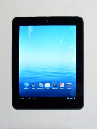 """El formato 4:3 de la tablet hace que posea una forma """"cuadrada""""."""