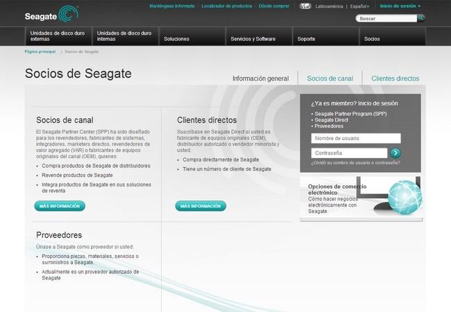 Seagate espera contar con 3.000 socios en programa SPP para 2014.