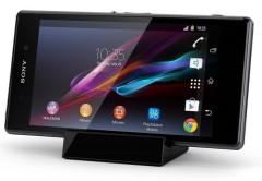 El Sony Xperia Z1 en su cargador premium