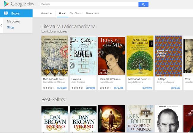 Google Play Los Usuarios Argentinos Ya Pueden Descargar Libros De