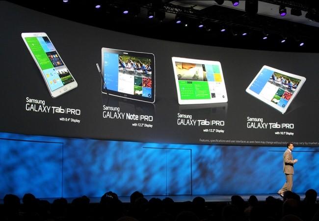 CES 2014: Samsung presentó su linea de tablets 2014